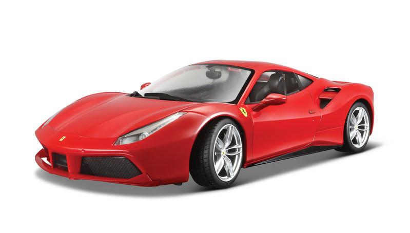 BBURAGO - Ferrari 488 GTB 1:18 Ferrari Race&Play