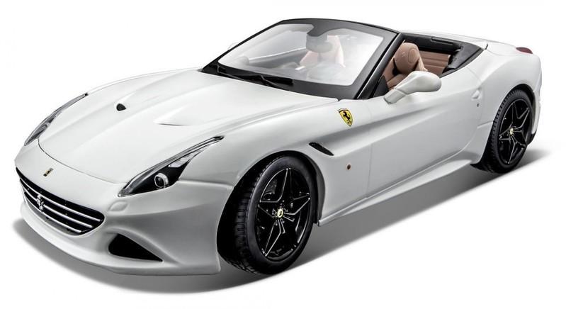 BBURAGO - Ferrari California T (Open Top) 1:18 Ferrari Signature white