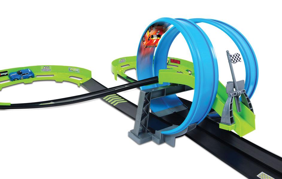 BBURAGO - Go Gears Daredevil Raceway Dual Loops