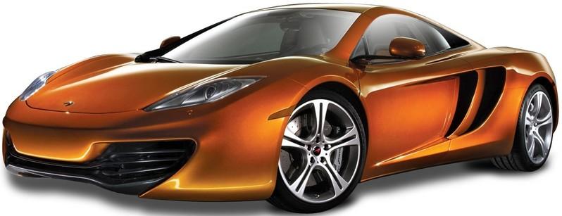 BBURAGO - McLaren MP4 12C 1:24 Orange PLUS