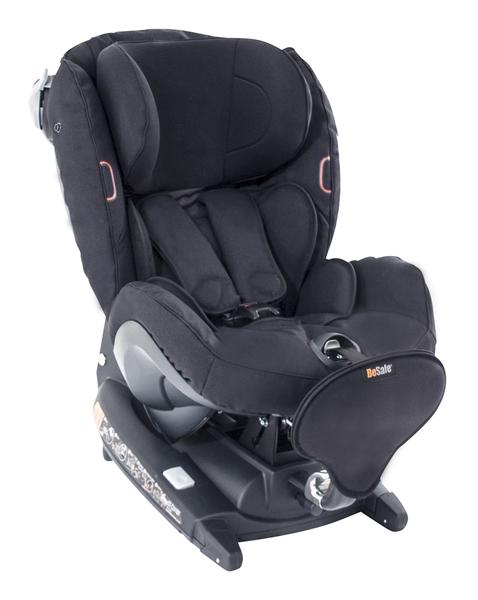 BESAFE - Autosedačka 0-18 kg iZi Combi ISOFix X4, čierna klasik 64