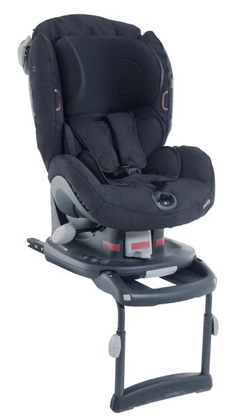 BESAFE - Autosedačka 9-18 kg iZi Comfort X3 ISOfix, čierna klasik 64