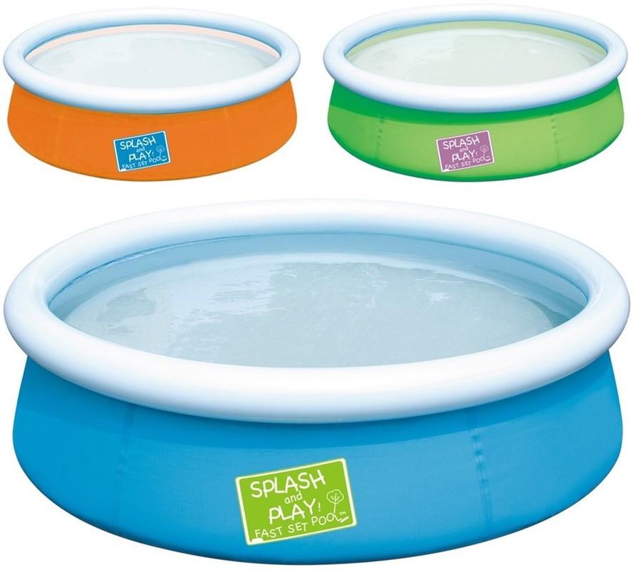 BESTWAY - 57241 Môj prvý Splash and Play bazén zelený