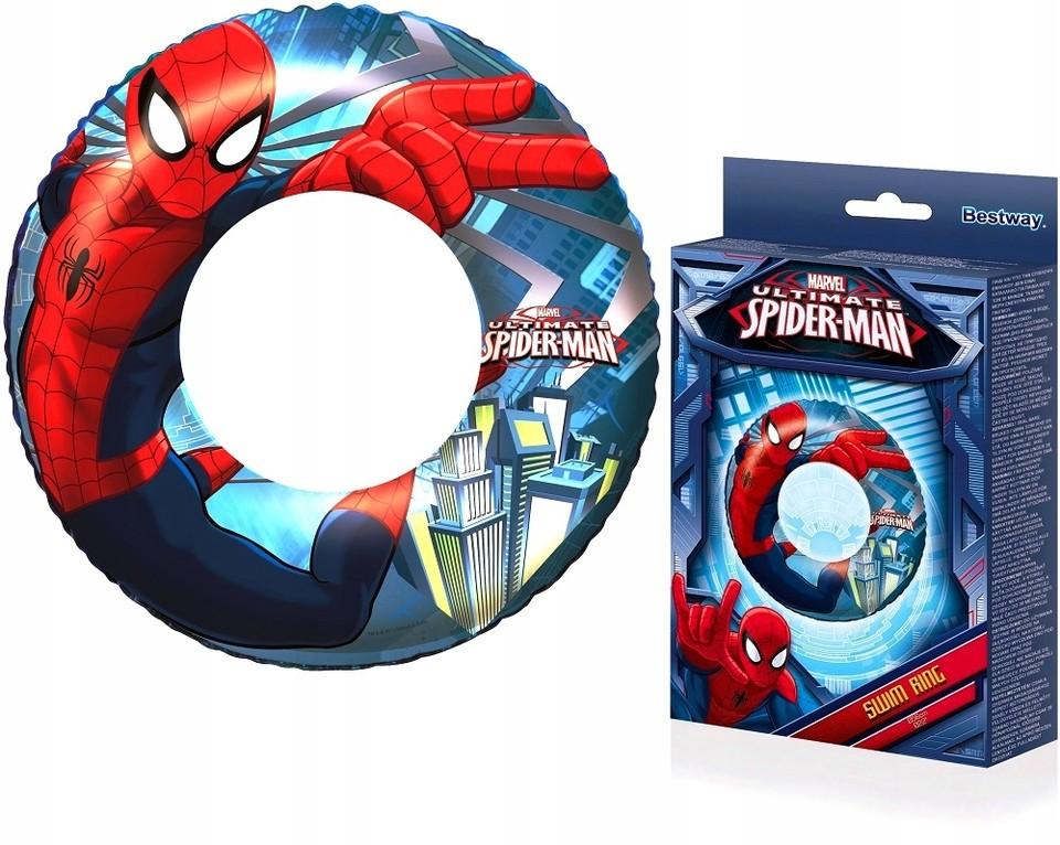 BESTWAY - 98003 Nafukovacie koleso Spiderman 56cm