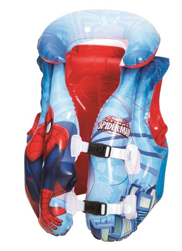 BESTWAY - 98014 Nafukovacia plávacia vesta Spiderman 51x46cm