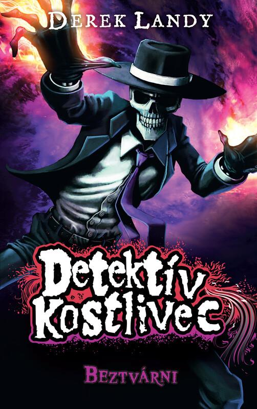 Beztvárni. Detektív Kostlivec 3 - Derek Landy
