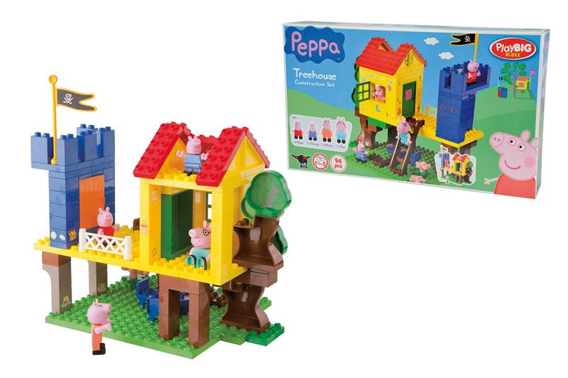 BIG - PlayBig Bloxx Peppa Pig Treehouse