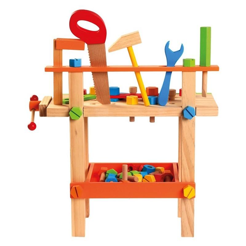 BINO - 82149 Detský pracovný stôl s náradím