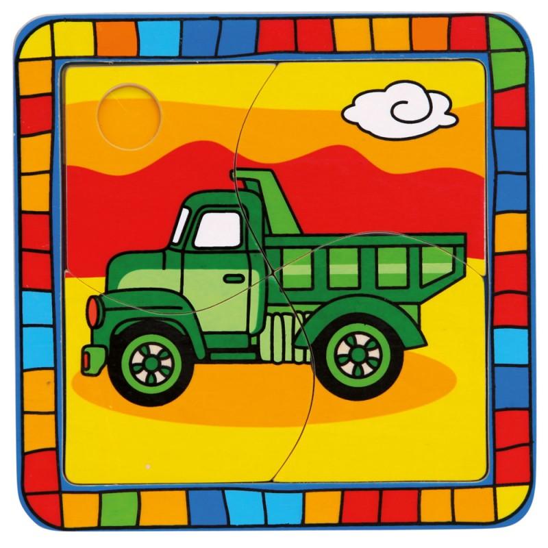 Bino - 88006 Puzzle Nákladné auto