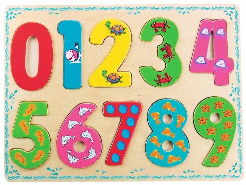 BINO - 88109 Puzzle Číslice