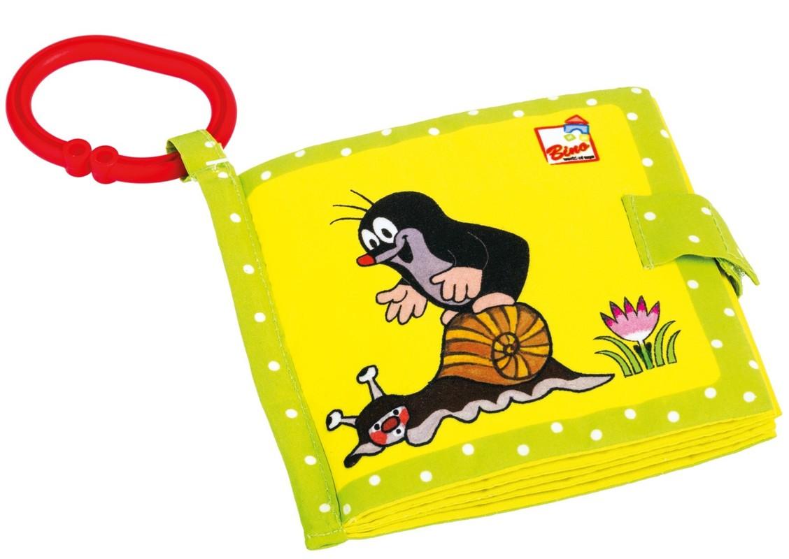 BINO - Baby 13903 Moja prvá knižka Krtko