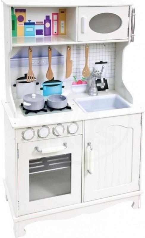 BINO - Bino Detská kuchynka Provence s príslušenstvom 83724