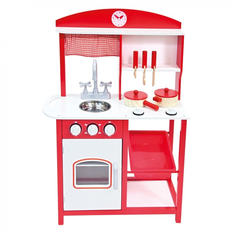 BINO - Detská kuchynka s príslušenstvom 5 ks 83725