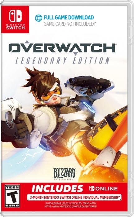 BLIZZARD - SWITCH Overwatch Legendary Edition, akčná Strielačka pre Nintendo Switch