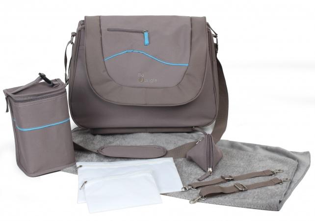 BO JUNGLE - Taška, b-leisure nursery bag - TAUPE