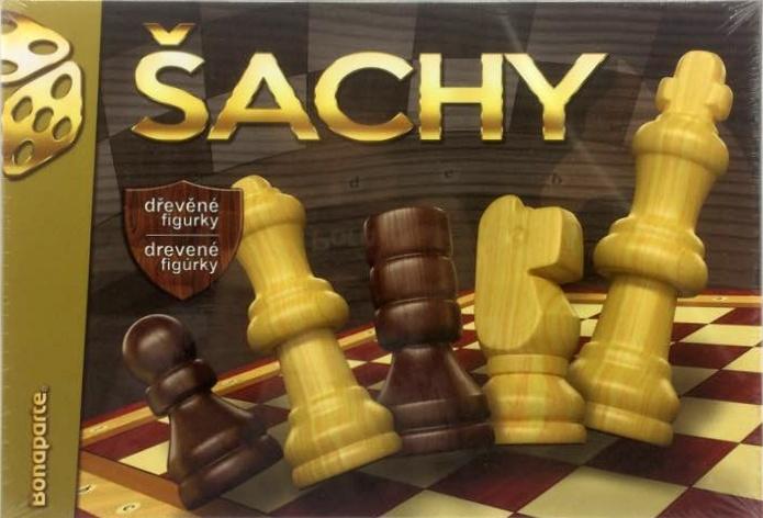 BONAPARTE - Šachy drevené v krabici