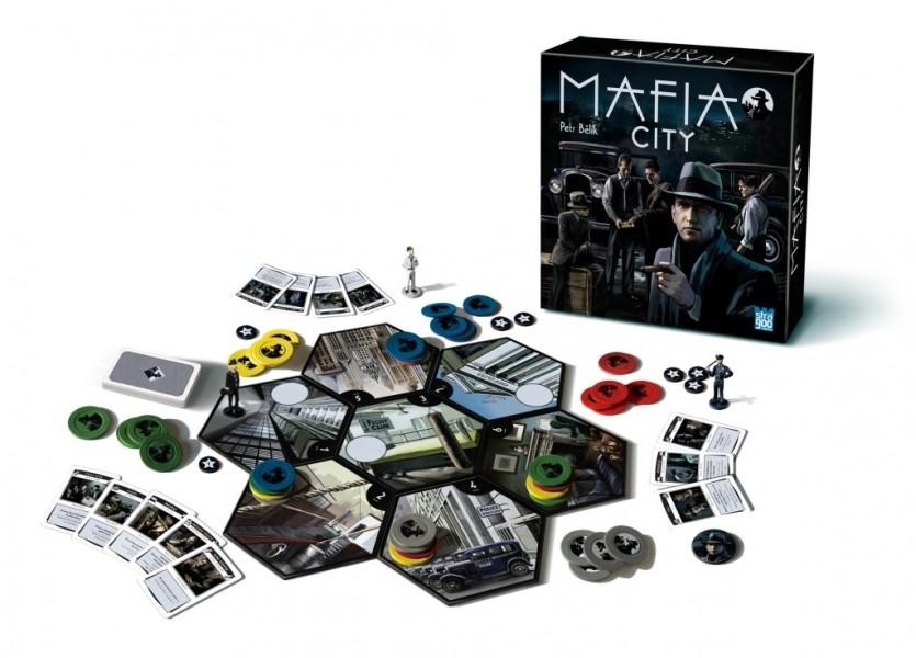 BONAPARTE - Spoločenská hra Mafia City