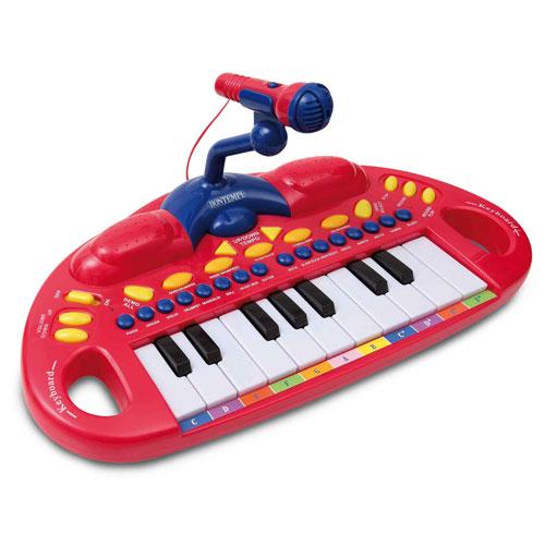 BONTEMPI - detské elektronické klávesy s mikrofónom MK1830.2