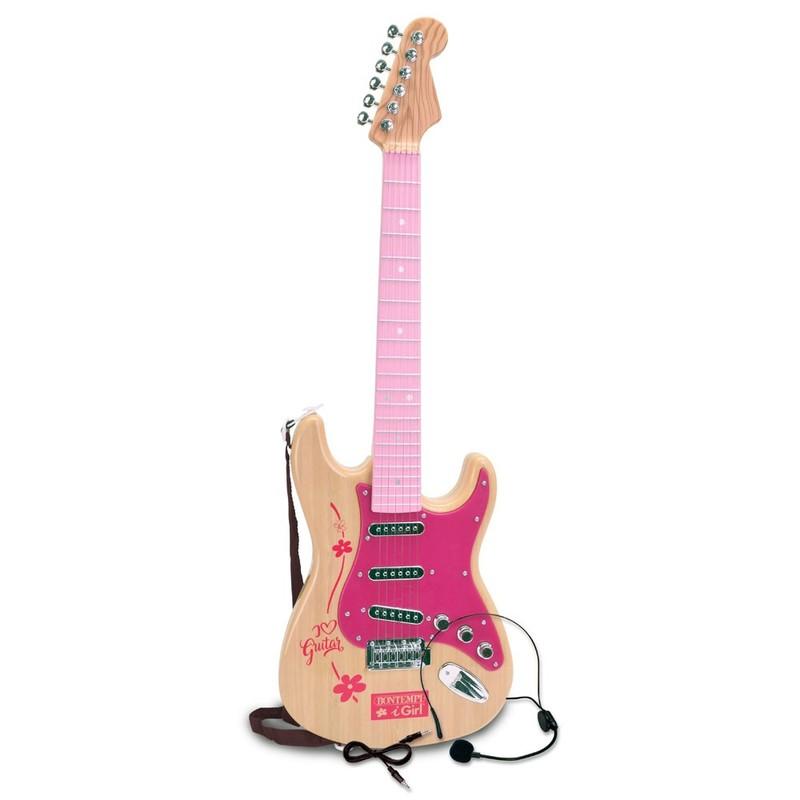 BONTEMPI - Elektrická rocková gitara s mikrofónom 241317