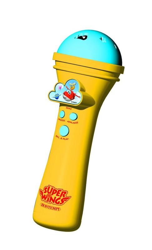 BONTEMPI - Karaoke mikrofón Super Wings 412969