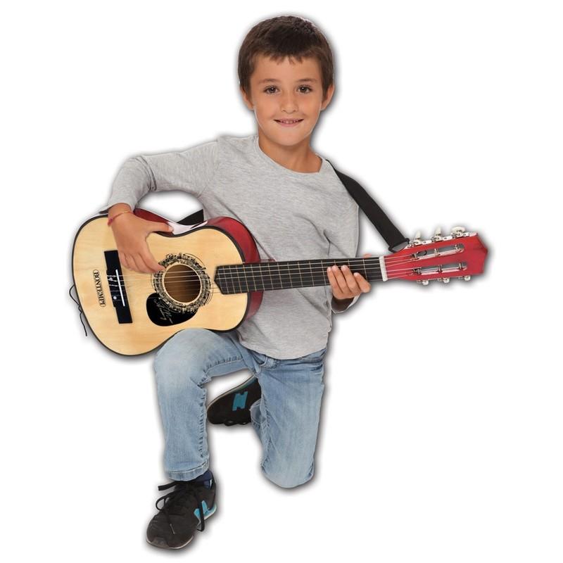 BONTEMPI - Klasická drevená gitara 75 cm 217531