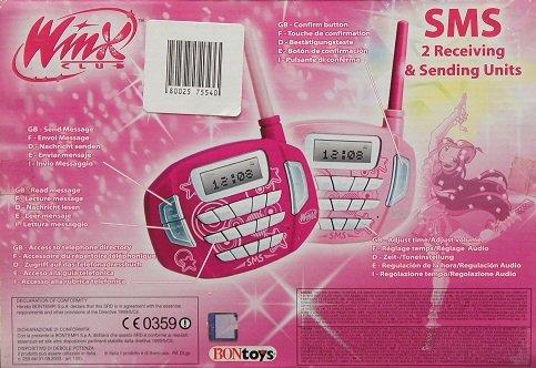 BONTEMPI - Prijímač a odosielač správ Winx SMS8676