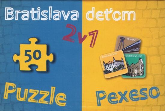 Bratislava deťom-Pexeso a Puzzle - Kolektív autorov