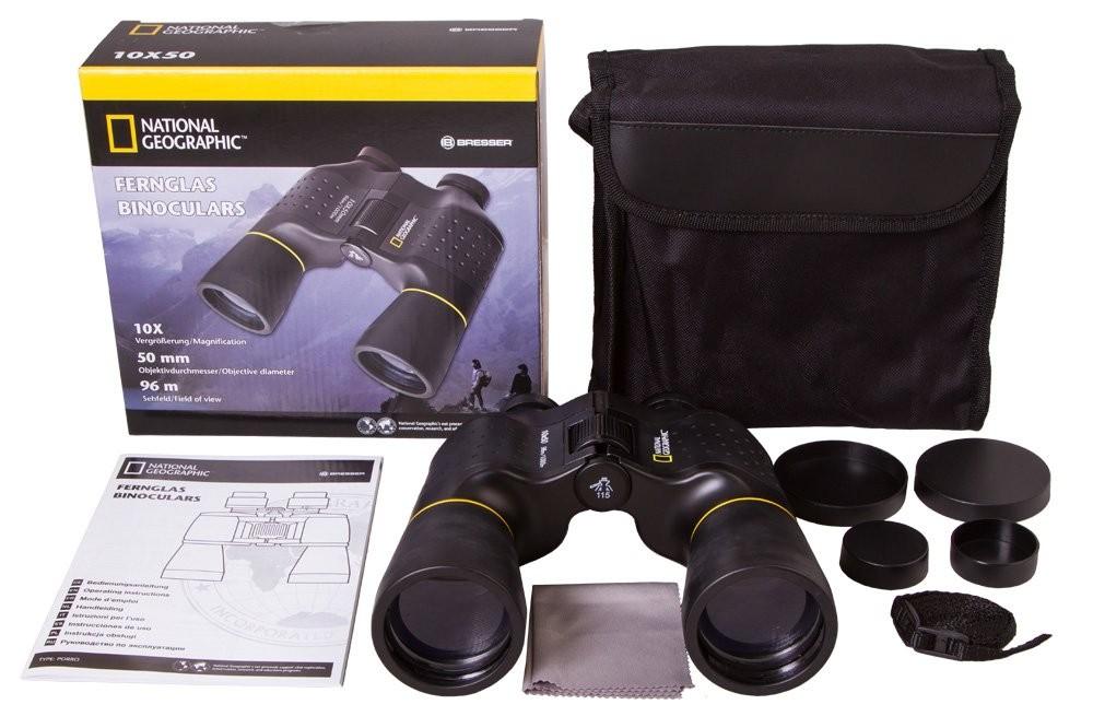 BRESSER - National Geographic Ďalekohľad Porro Optik 10 x 50