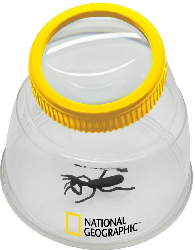 BRESSER - National Geographic Lupa na pozorovanie hmyzu XXL 5X