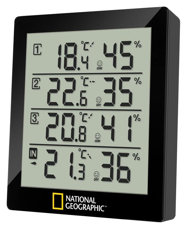 BRESSER - National Geographic Meteorologická stanica Black 4