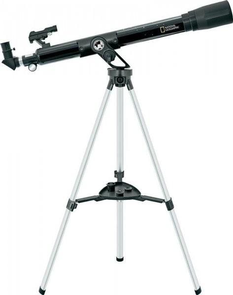 BRESSER - National Geographic Refraktorový Teleskop 60/800 AZ