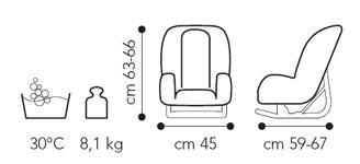 BREVI - 515 GRAND PRIX Autosedačka Hello Kitty