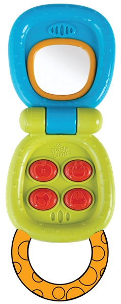 BRIGHT STARTS - Hračka aktívna telefón My Little Flip™ 3m+