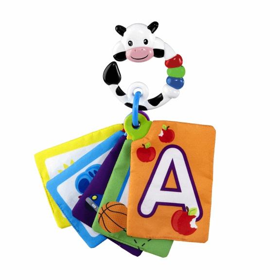 BRIGHT STARTS - Karty zábavno-vzdelávacie Take Along Discovery Cards™ písmená 0m+
