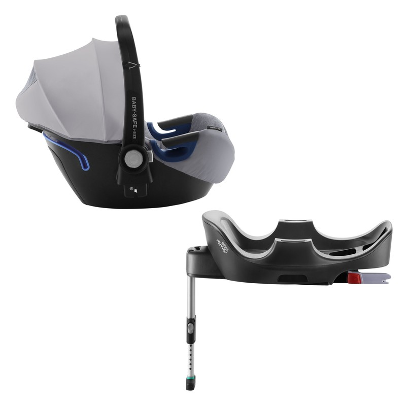 BRITAX RÖMER - Autosedačka Baby-Safe 2 i-Size Bundle Flex, 0-13 kg - Grey Marble