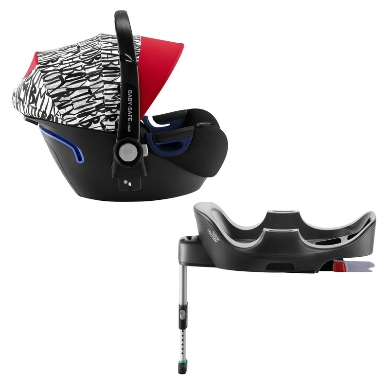 BRITAX RÖMER - Autosedačka Baby-Safe 2 i-Size Bundle Flex, 0-13 kg - Letter Design