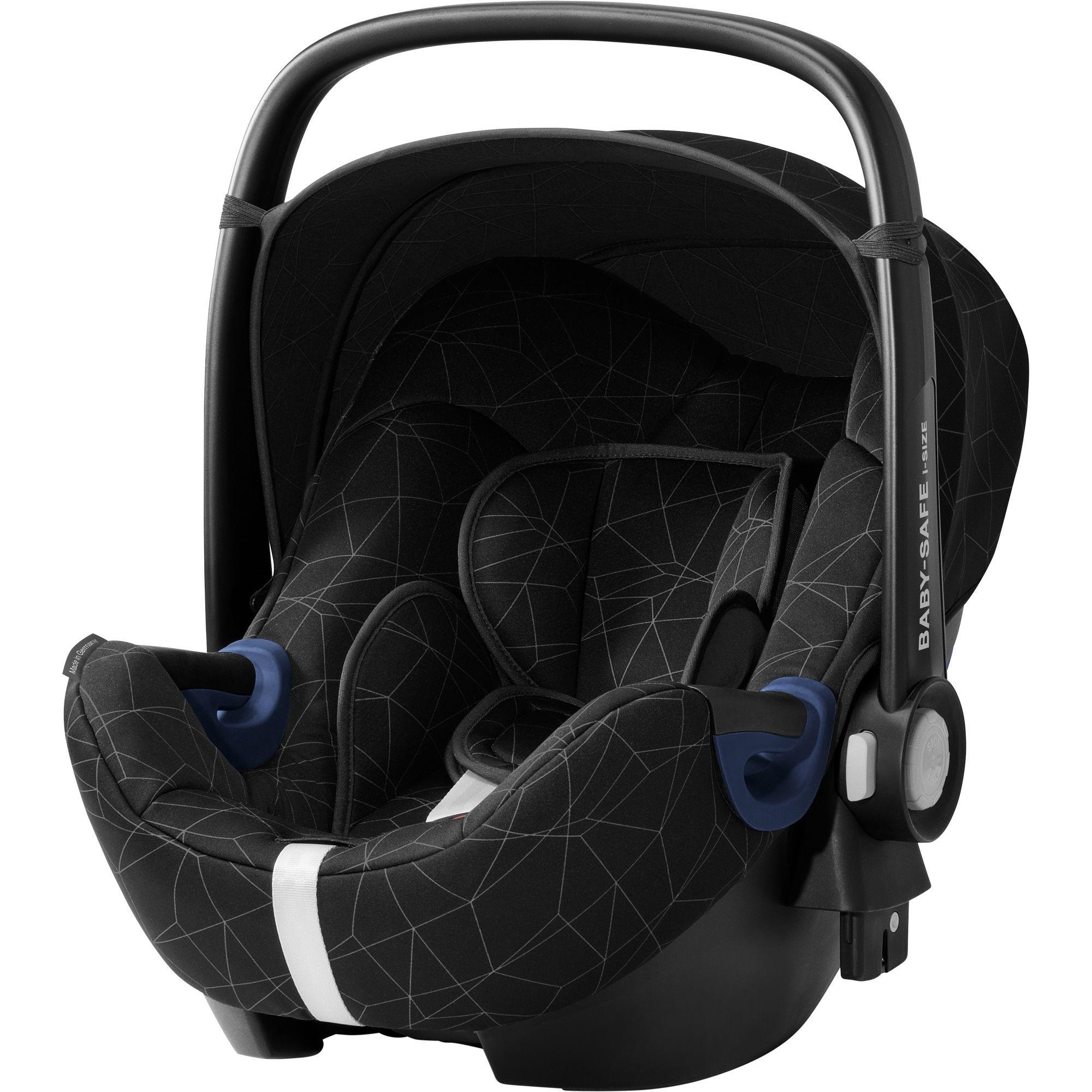 BRITAX RÖMER - Autosedačka Baby-Safe 2 i-Size Bundle Flex, 0-13 kg - Crystal Black