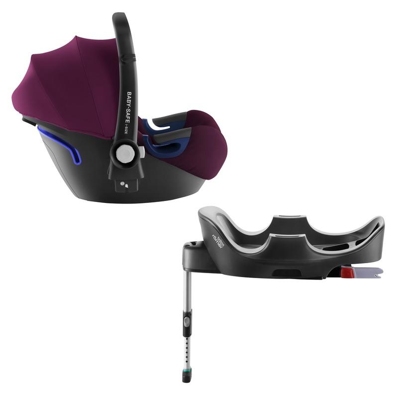 BRITAX RÖMER - Autosedačka Baby-Safe 2 i-Size Bundle Flex, 0-13 kg - Burgundy Red
