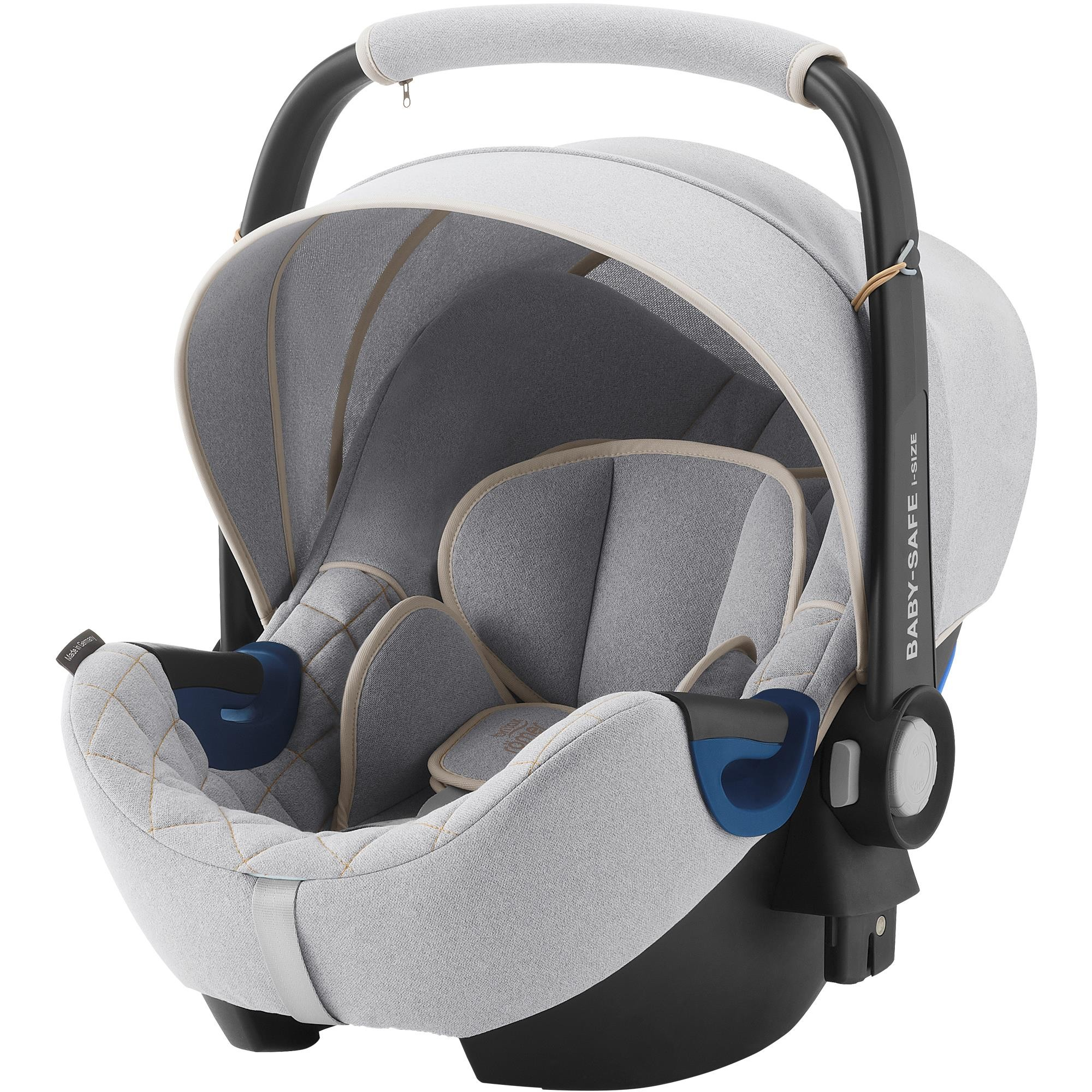 BRITAX RÖMER - Autosedačka Baby-Safe 2 i-Size Bundle Flex, 0-13 kg - Nordic Grey
