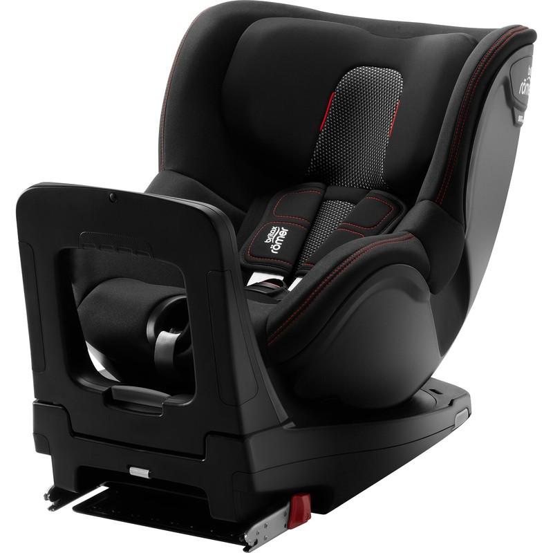 BRITAX RÖMER - Autosedačka Dualfix M i-Size, Cool Flow - Black