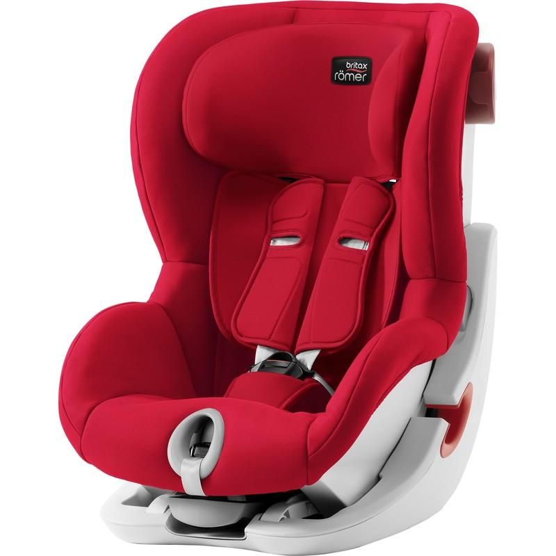 BRITAX RÖMER - Autosedačka King II, 9-18 kg - Fire Red