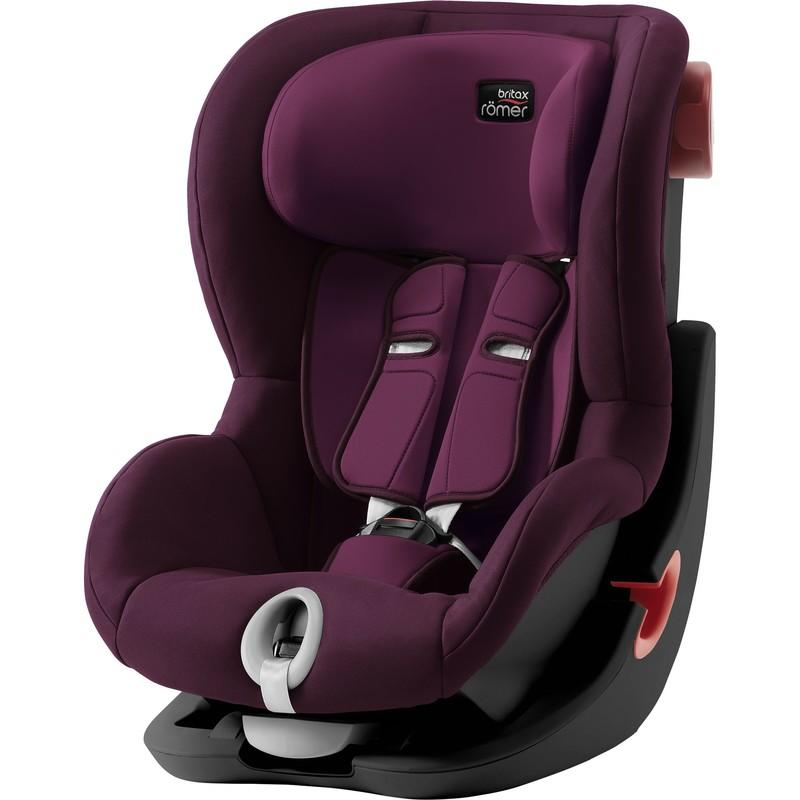 BRITAX RÖMER - Autosedačka King II Black, 9-18 kg - Burgundy Red