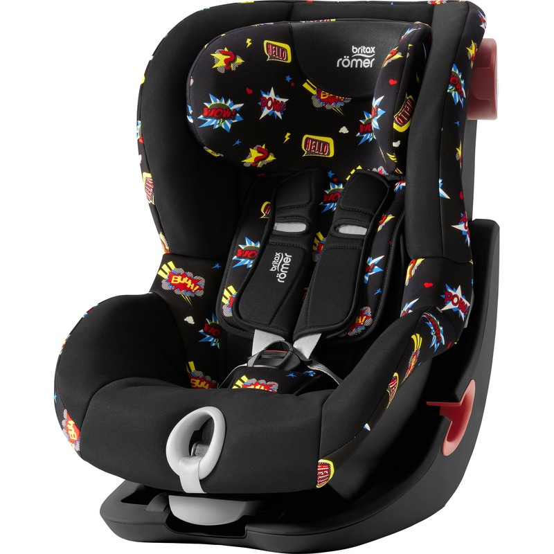 BRITAX RÖMER - Autosedačka King II Black, 9-18 kg - Comic Fun