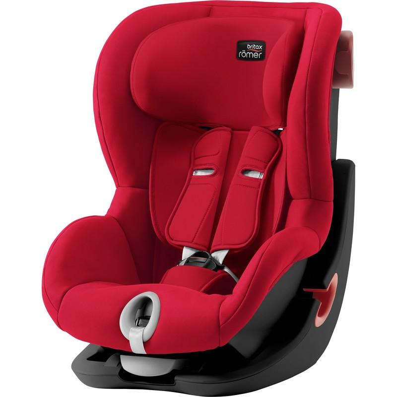 BRITAX RÖMER - Autosedačka King II Black, 9-18 kg - Fire Red