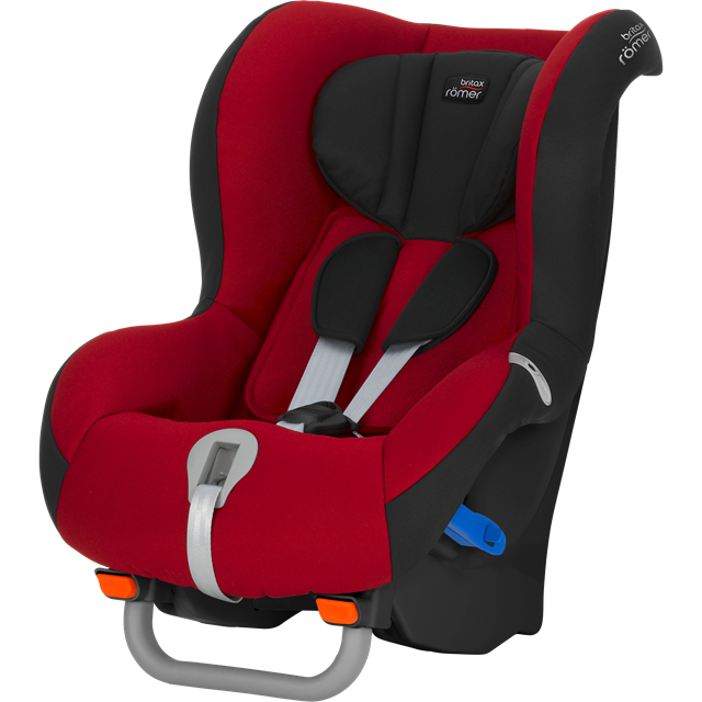 BRITAX RÖMER - Autosedačka Max-Way Black, Flame Red