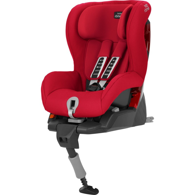 BRITAX RÖMER - Autosedačka Safefix Plus, 9-18 kg - Fire Red