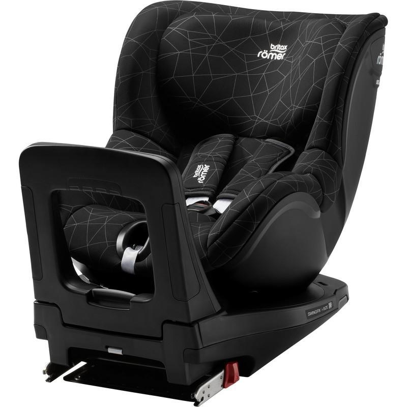 BRITAX RÖMER - Autosedačka Swingfix i-Size, 0-18 kg - Crystal Black