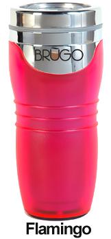 BRUGO - Termohrnček 450 ml - Flamingo
