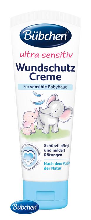 BÜBCHEN - Ultra Sensitiv krém na zapareniny 75 ml