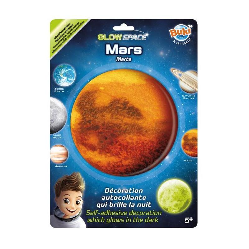 BUKI - Mars nálepka svietiaca v tme